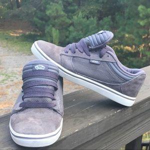 Vans Gray Suede Skate Shoes Sneakers